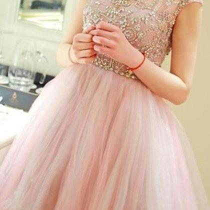 Gorgeous Formal Short Tulle Homecom..