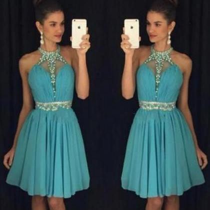 Blue Homecoming Dress,Homecoming Go..
