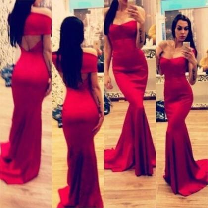 red prom dress, long prom dress, ch..