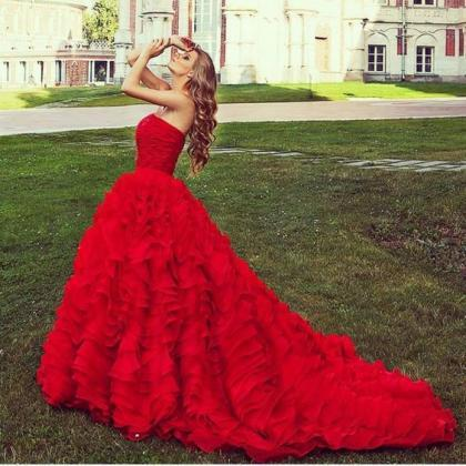 Modest Prom Dress,New Prom Dress ,L..