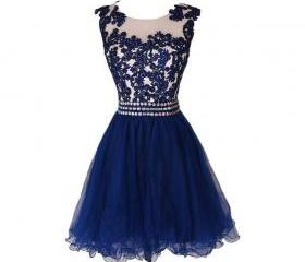 Blue Homecoming Dres..