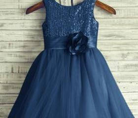 Navy Party Dress, Bl..