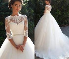 Modest Wedding Dress..