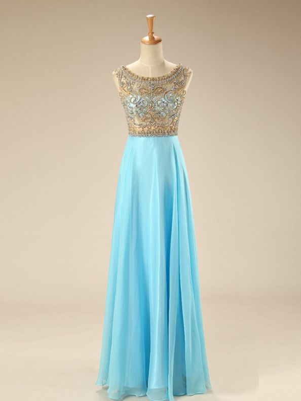 Blue Homecoming Dresses Zipper-Up Sleeveless A-Line/Column Scoop Mini Rhinestone