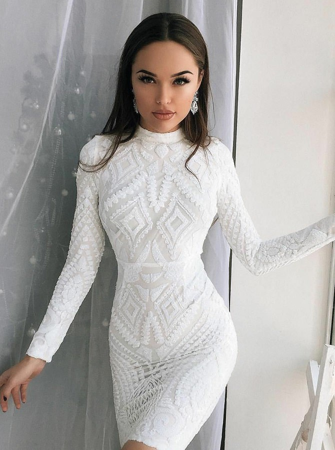 bf85afd8bfb White Party Dress