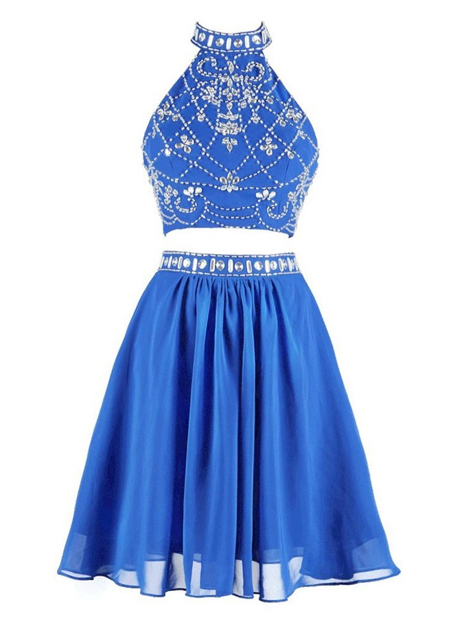 bc25c64327c Modern Two Piece Homecoming Dresses