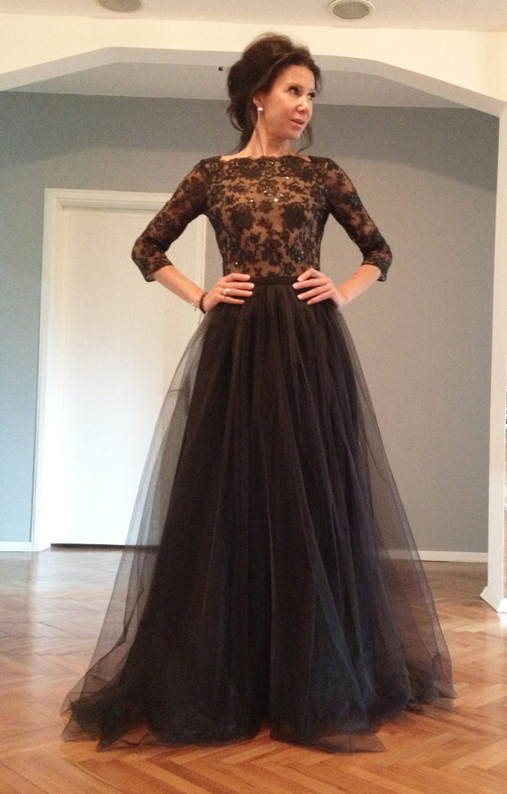 long sleeve lace prom dress, sexy prom dress, 2017 prom dress, lace prom dresses, prom dress online, open back prom dress, 16114