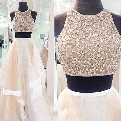 white prom dress, long prom dress, sequin prom dress, unique prom dress, custom prom dress, prom dresses 2017,15040613