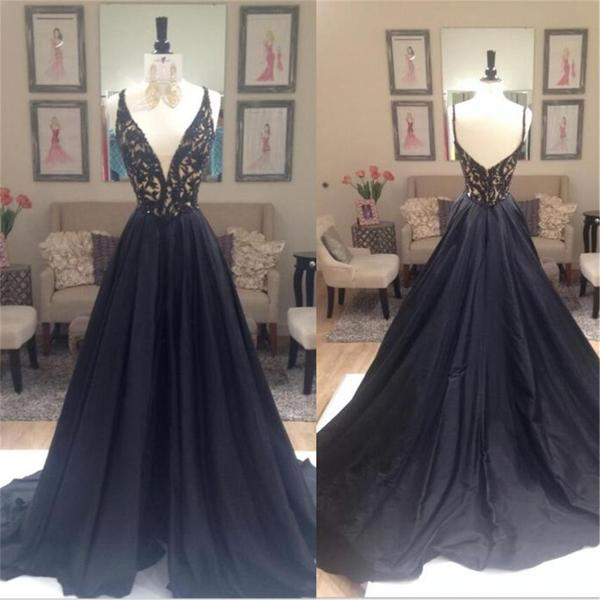 Elegant Prom Dress New Gorgeous prom dresses black Sweet 16 Gowns black evening dresses long Quinceanera Dresses
