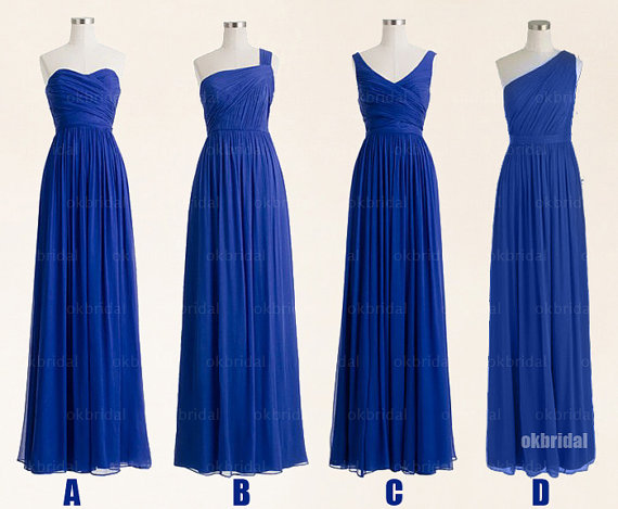 526b2fc726 Royal Blue Bridesmaid Dresses