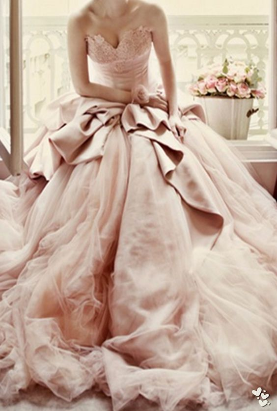 7bb004cce3 Blush Pink Wedding Dresses Princess Vintage Ball Gown Lace wedding dress  for brides