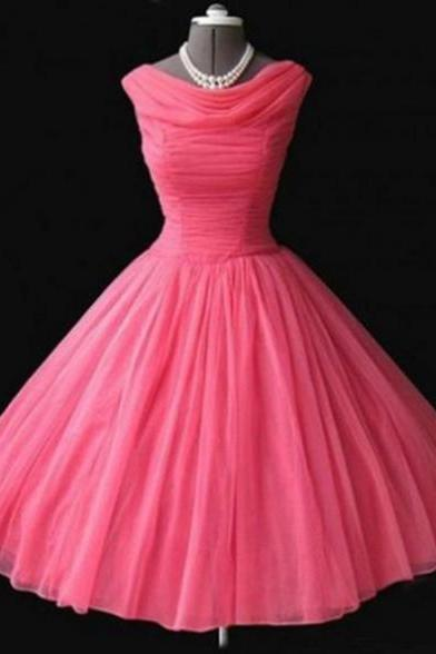 2017 A-line Homecoming Dresses Sleeveless Cowl Short/Mini Pleated On Sale Zipper Dresses