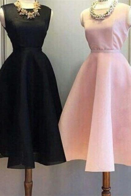 Pink Homecoming Dresses Zippers Sleeveless A lines Jewels Mini Pleats