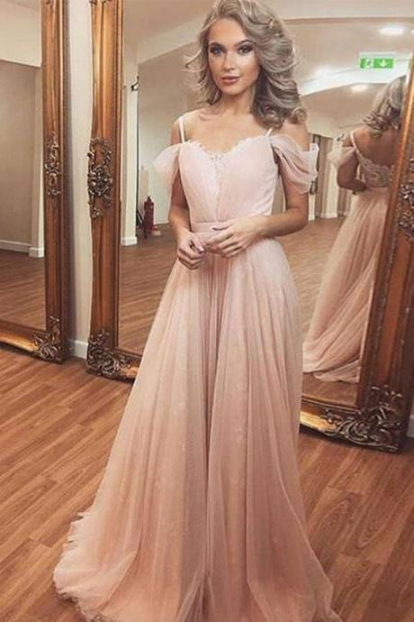 Prom Dress Lace, Pink Prom Dress, Long Sleeves Prom Dress, Prom Dress Long BOHO429952