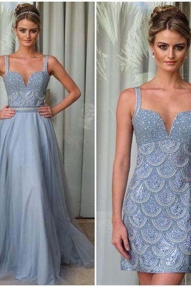 Long Prom Dress High low Formal Dress, Woman Evening Dress, Charming Prom Dress, Long Prom Dress