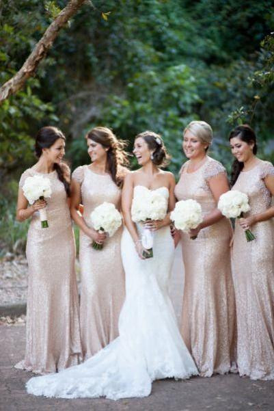 Sequined bridesmaid dress,Short Sleeve bridesmaid dress, 2017 Bridesmaid Dress ,Sexy bridesmaid dress, Wedding Party Dresses, 15042002