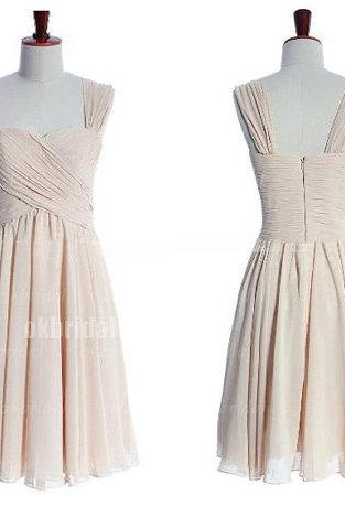 off shoulder bridesmaid dresses, champagne bridesmaid dresses, custom bridesmaid dresses, cheap bridesmaid dresses, short bridesmaid dresses,16390