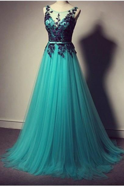 Custom prom dress,A Line prom dress,Round Neck prom dress,Long prom dress,Lace Prom Dresses, Dresses For Party,15051301