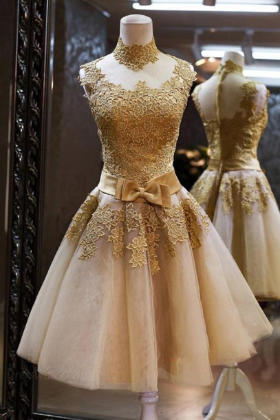 Lace prom dresses,Custom prom dress,Round Neck prom dress,Short Prom Dresses, Short Graduation Dresses, Cocktail Dresses,homecoming dress,15051319
