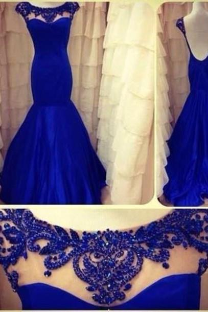 Long prom dress,Sexy prom dresses,Custom prom dresses,Mermaid prom dress,Royal Blue Prom Dress, Evening Dress, Formal Dress,15051334