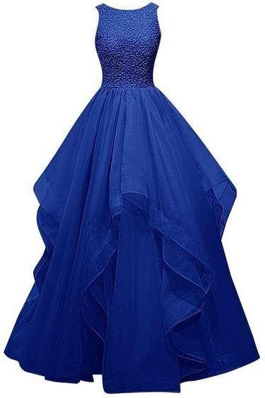 New Fashion burgundy Prom Dress Charming Royal Blue Prom Dresses Elegant Floor-Length Evening Gowns