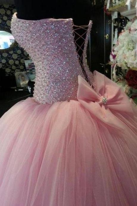 Cheap Quinceanera Dresses Princess Ball Gown Fitted Mint Green Puffy Tulle Sixteen Birthday Prom Dress