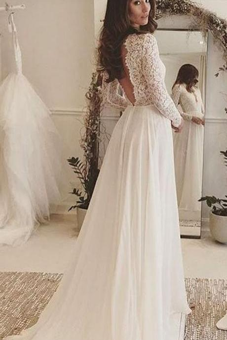beach wedding dresses, elegant wedding dresses, chic wedding dresses, bridal gown,cheap wedding dresses