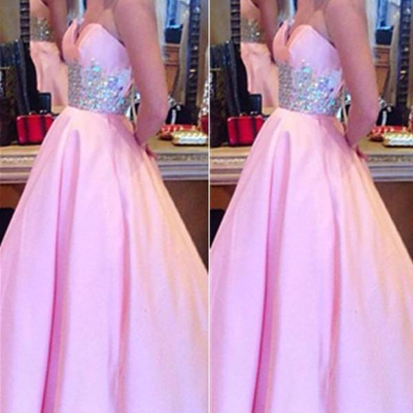 Girly Sweetheart High Low Beading A-line Quinceanera Dresses Prom Dresses K670