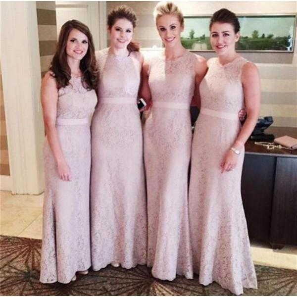 Lace Mermaid bridesmaid dresses, long bridesmaid dresses, cheap bridesmaid dresses, Custom bridesmaid dresses, 15233