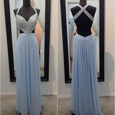 blue prom dress, long prom dress, prom dress 2017, affordable prom dress, custom prom dresses, sexy prom dress,15040607