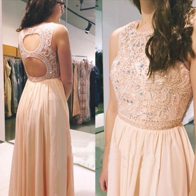 pink prom dress, long prom dress, backless prom dress, free custom prom dress, prom dresses 2017,15040611