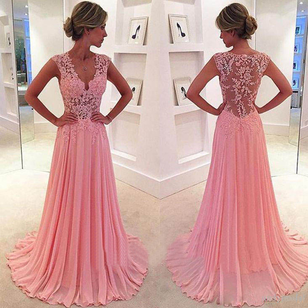 Peach prom dresses, See through prom dresses, lace prom dresses, sexy prom dresses, off shoulder prom dresses, 17500